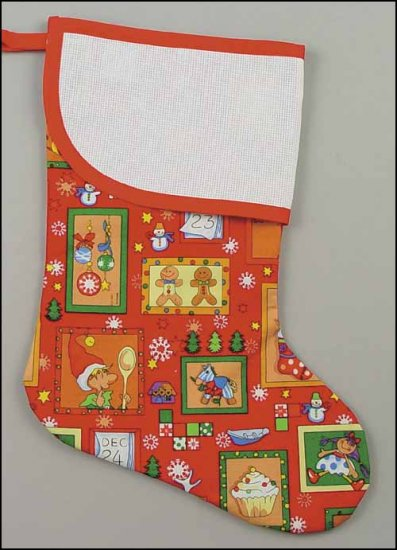 large christmas visions stocking - Large Christmas Stockings
